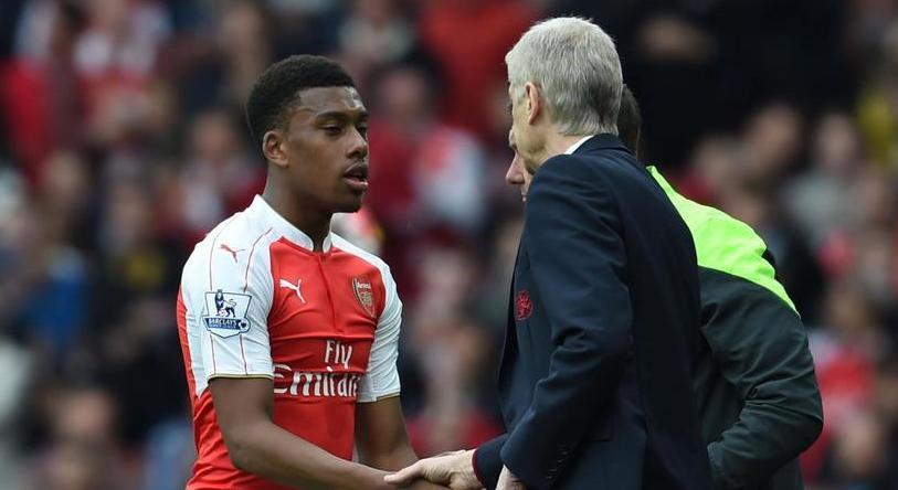 Zawodnik i trener Arsenalu