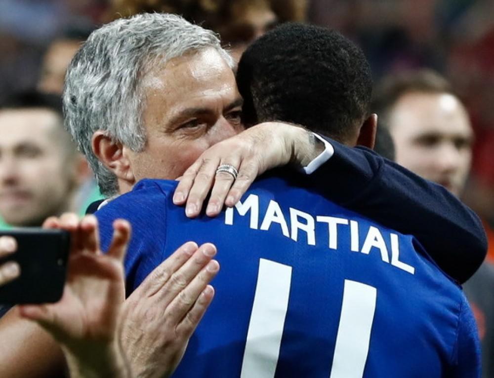 """Anthony Martial o relacjach z Mourinho: """"Jest surowy wobec mnie"""""""