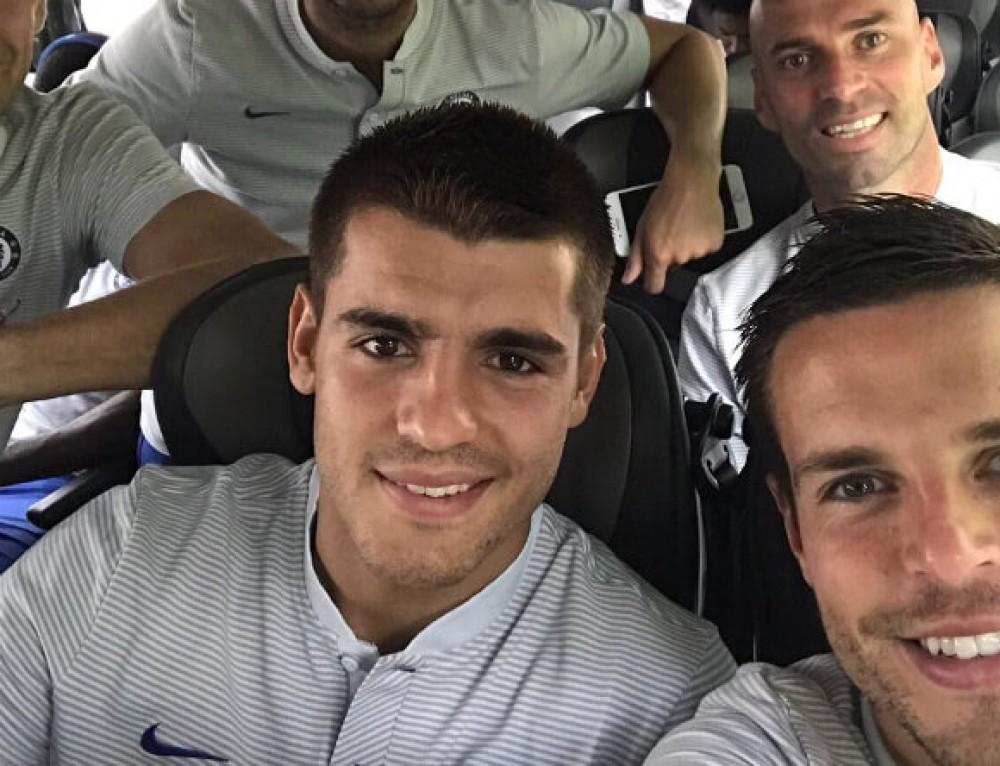 Azpilicueta, Morata, gol. Taktycznie o współpracy Hiszpanów