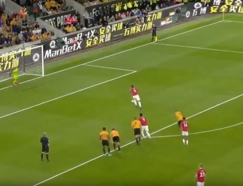 Cudowny strzał Nevesa, Patricio broni karnego Pogby! Wilki remisują z United