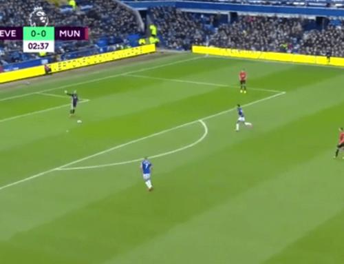 Kompromitacja de Gei igol Fernandesa zdystansu! 1:1 wstarciu Evertonu zUnited