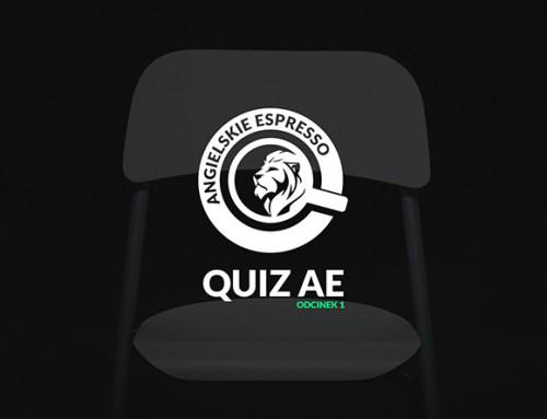 Quiz Angielskie Espresso – odcinek 1