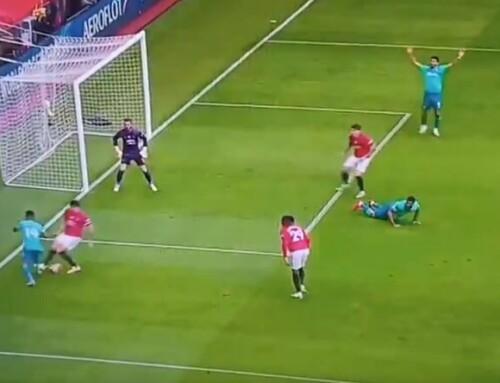 Ośmieszony Maguire, przecudny gol Martiala! Dzieje się naOld Trafford!
