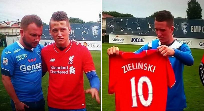 Piotr Zieliński i Liverpool w jego dłoniach, przynajmniej w programie Canal+. O transferze już następnego dnia pisały gazety w Anglii.