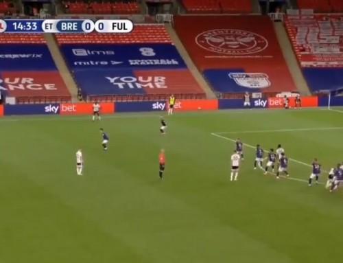 Gol zwolnego z40 metrów! Fulham jedną nogą wPremier League!