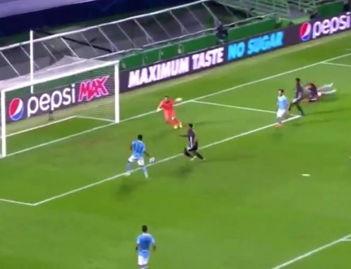 Pudło Sterlinga z5 metrów, ogromne kontrowersje przy golu Lyonu. City odpada zLigi Mistrzów!
