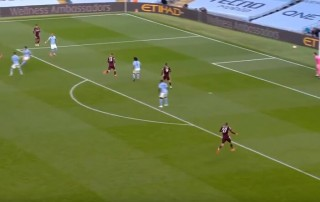 Maddison Leicester Manchester City gol września