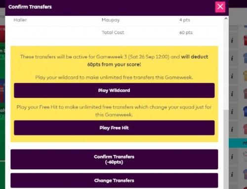 Szybki Wildcard – jak dobrze rozegrać wcześnie zagraną Dziką Kartę wFPL-u?