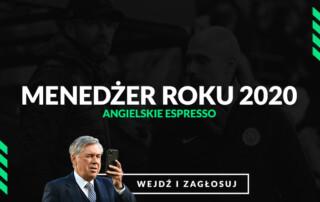 Menedżer roku 2020 Angielskie Espresso