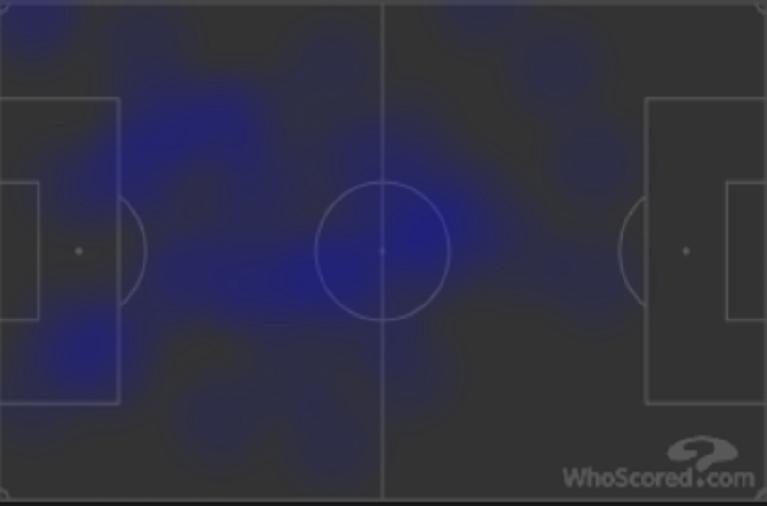 Kevin de Bruyne był najjaśniejszą postacią City wtym meczu.