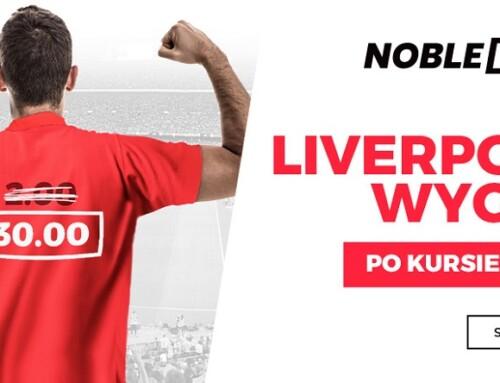 Kurs 30.00 nazwycięstwo Liverpoolu? Tomożliwe!