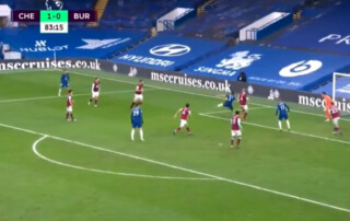 Marcos Alonso gol vs Burnley