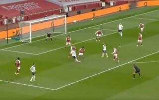 Erik Lamela gol marca 2021 Premier League