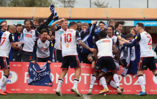 Bolton Wanderers League One Promotion