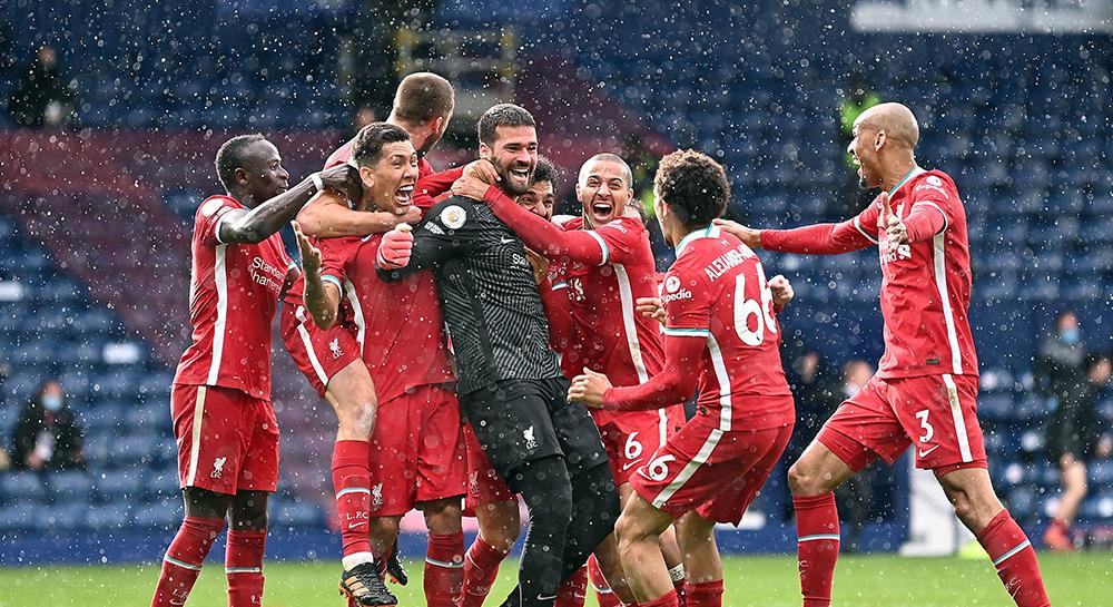 Liverpool Alisson gol Thaigo Firmino Mane Trent Alexander Arnold Fabinho Salah