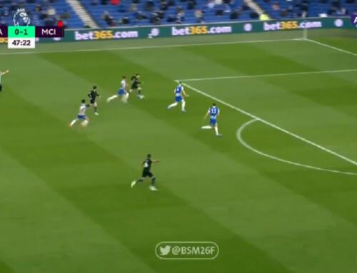 Fenomenalny rajd Fodena przezpół boiska zakończony golem! Brighton odpowiada imamy meczycho naThe Amex!